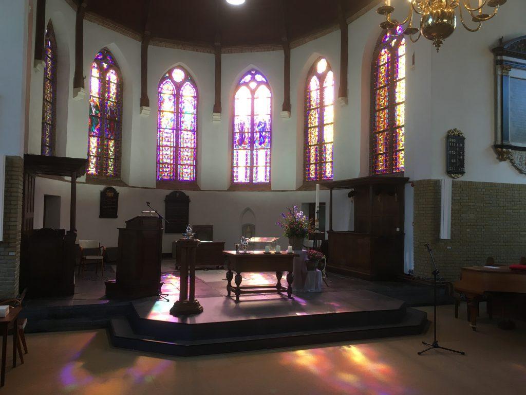 Liturgisch centrum van de Maartenskerk